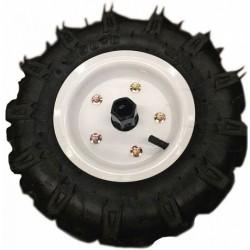 Резиновые колеса диаметром  4.00-10