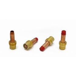 Держатель цанги с газовой линзой (GasLens) для аргонодуговой горелки TIG17-18-26 d 3.2мм