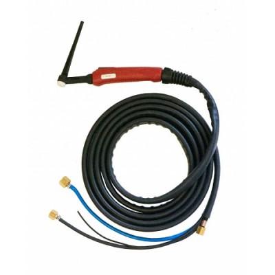 Горелка TIG 20 250A (100%) M12x1, 1/4G, 3/8G, 4m вода