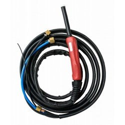 Горелка TIG 25 250A (100%) M12x1, газ 1/4G, вода 3/8G, 8m-с упр. разъёмами 2-3-5pin