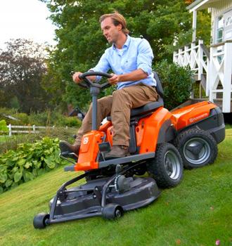 Райдеры и садовые тракторы