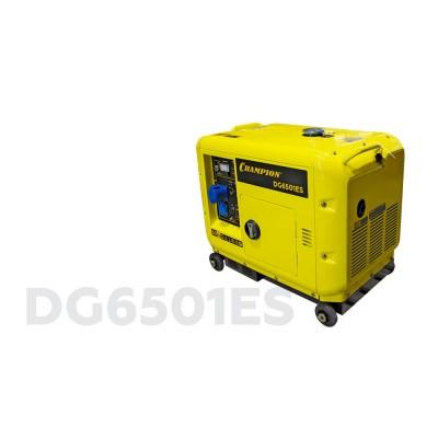 Генератор CHAMPION DG6501ES +ATS