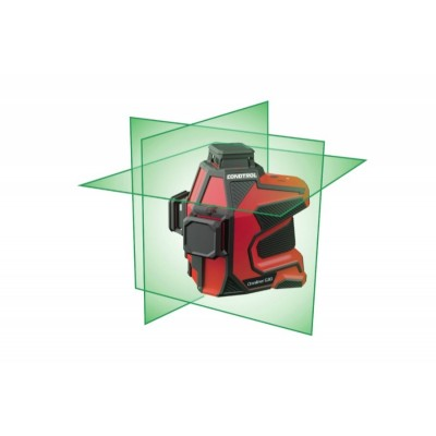 Лазерный нивелир CONDTROL Omniliner 3D G (плотная сумка, аккумулятор, зарядное устройство) степень защиты IP 65