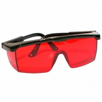 Очки для работы с лазерным инструментом — красные