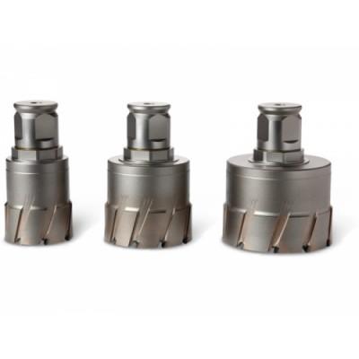 Корончатое сверло FEIN Ø76 мм HM Ultra 50 с хвостовиком QuickIN MAX 6 31 27 456 01 0