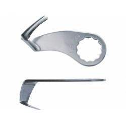Нож U-образной формы, 25,5 мм, зубчатый, 2 шт. в упаковке FEIN 6 39 03 211 01 5