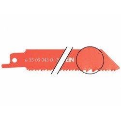 Пильные полотна FEIN BIM, < 25 мм, 100 мм (3 шт.) 6 35 03 043 01 8