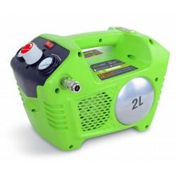 Greenworks 24V аккумуляторный воздушный компрессор G-MAX 8 бар