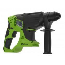 GreenWorks 24V аккумуляторный перфоратор, без аккумулятора и зарядного устройства