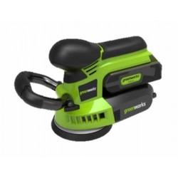 GreenWorks 24V аккумуляторная шлифовальная машина, без аккумулятора и зарядного устройства