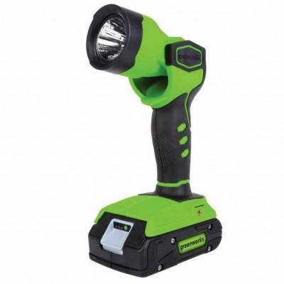 GreenWorks 24V аккумуляторный рабочий фонарь, без аккумулятора и зарядного устройства