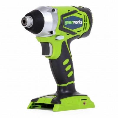 GreenWorks 24V аккумуляторный шуруповерт G24ID, без аккумулятора и зарядного устройства