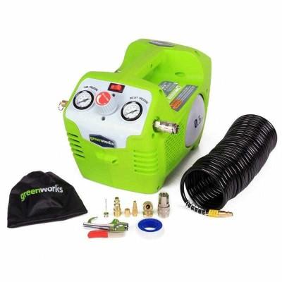Greenworks 40V G-MAX аккумуляторный воздушный компрессор G-MAX 8 бар