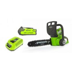 Пила аккумуляторная Greenworks G40CS30 12 (с АБ 2 Ah 40 V и ЗУ)