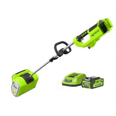 Снегоуборщик аккумуляторный Greenworks G40SS30 (с АБ 2Ah и ЗУ)
