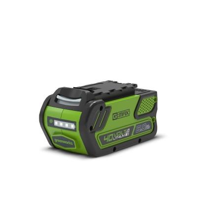 Аккумулятор Greenworks Li-Ion G-MAX 40V 6Ah