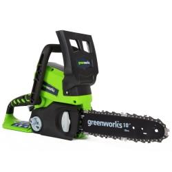 Пила аккумуляторная Greenworks G24CS25 10 (без АБ и ЗУ)