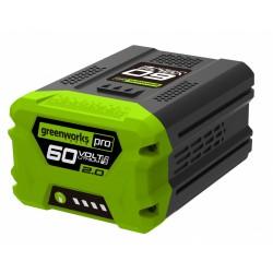 Аккумулятор Greenworks G60B2 Li-Ion 60 V/2Ah
