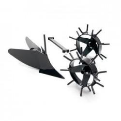 Плуг-окучник Husqvarna с металлическими колесами