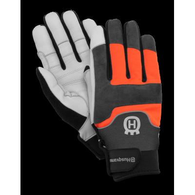 Перчатки Husqvarna Technical с защитой от порезов бензопилой