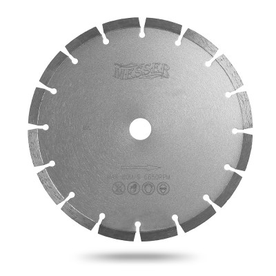 Алмазный сегментный диск Messer B/L. Диаметр 500 мм.