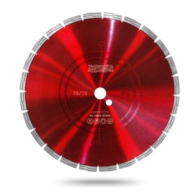 Универсальный алмазный сегментный диск Messer FB/TH. Диаметр 125 мм.
