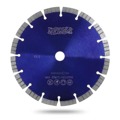Алмазный сегментный диск Messer FB/Z. Диаметр 400 мм.