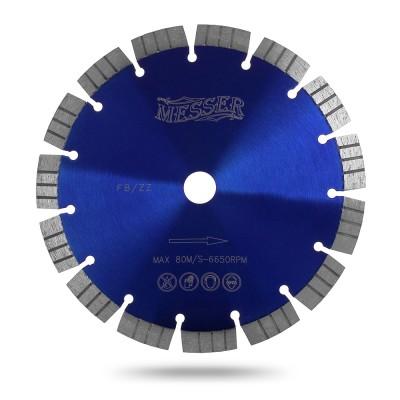 Алмазный сегментный диск Messer FB/ZZ. Диаметр 350 мм.