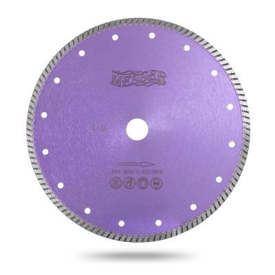 Алмазный турбо диск Messer G/M. Диаметр 230 мм.
