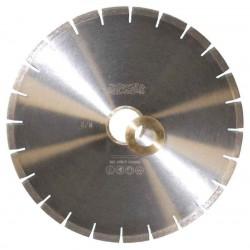 Бесшумный алмазный сегментный диск Messer G/E (мокрый рез). Диаметр 400 мм.