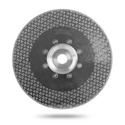 Алмазный диск для резки и шлифовки мрамора Messer M/F. Диаметр 125 мм.