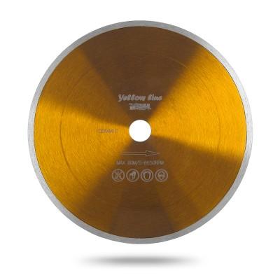 Алмазный диск Messer Yellow Line Ceramics со сплошной кромкой. Диаметр 180 мм.