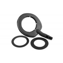 Водосборное кольцо А для алмазного сверления. (112 мм и 132 мм)
