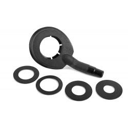 Водосборное кольцо B для алмазного сверления (45 мм, 55 мм, 65 мм, 75 мм)