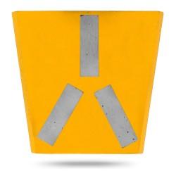 Алмазный шлифовальный франкфурт Messer тип H-40/50 для финишной шлифовки (3 сегмента)