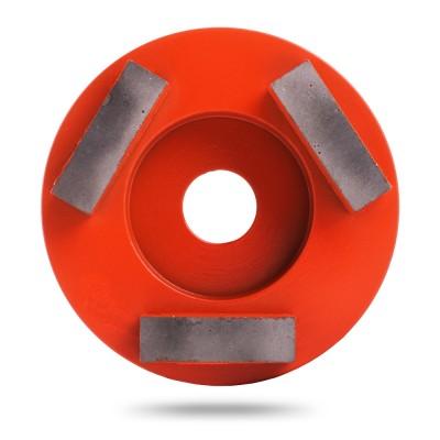 Алмазная шлифовальная фреза Messer тип M для средней шлифовки (3 сегмента)