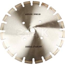 Круг алмазный RedVerg Ф350 мм асфальт