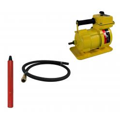 Вибратор-электропривод RD-RE-1,5 кВт RedVerg (комплект) (+гиб,вал 3м+вибробулава 51 мм )