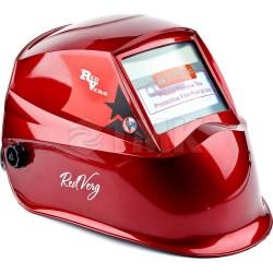 Маска сварщика хамелеон RedVerg RD-WM 605 (красный)(АСФ600GR)