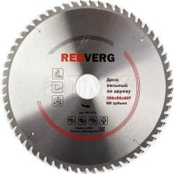 Диск пильный по дереву RedVerg твердосплавный 350х50 мм, 60 зубьев(800351)