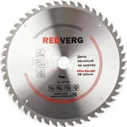 Диск пильный по дереву RedVerg твердосплавный 305х30 мм, 48 зубьев