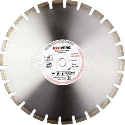Круг алмазный RedVerg сегментный по асфальту 450х25,4 мм(900311)
