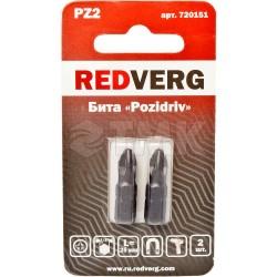 Бита Redverg Pz2х25 (2шт.)(720151)
