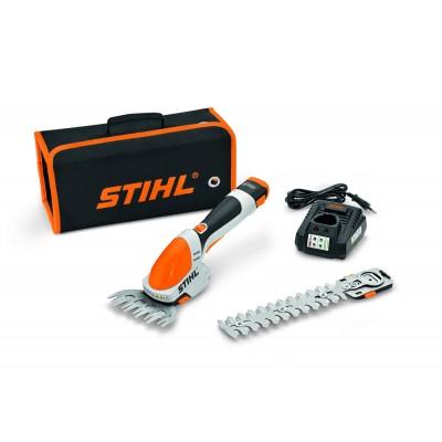 Ножницы аккумуляторные STIHL D HSA 25, 170 мм (с АБ 2Ah/10.8V и ЗУ)
