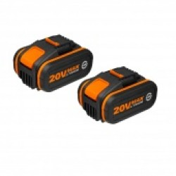 WORX 20V Комплект WA3553.2 из двух аккумуляторов 2*20 В 4.0 А/ч