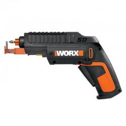 WORX 4V Отвертка аккумуляторная WX255 SD Slide Driver, комплект с АКБ 1.5 Ah и ЗУ