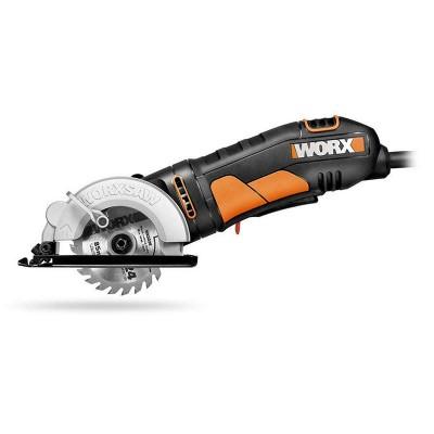 WORX 400W Электрическая проводная дисковая пила WX423, 85 мм